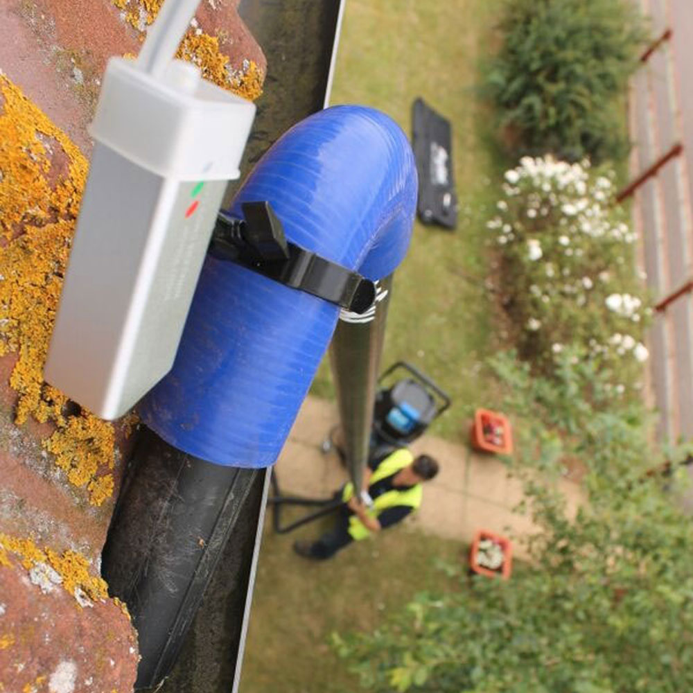 Skyvac Recordable Gutter Inspection Camera System Skyvac